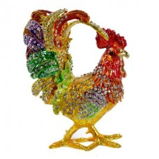 JF1906 Rooster Jewelry Case