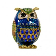 JF1982 Blue Owl Jewelry Case