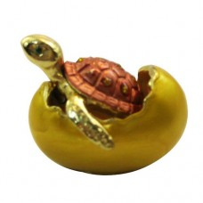 JF2037 Turtle in shell Jewelry Case
