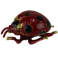JF2047 Ladybug Jewelry Case