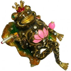 JF2476 Frog King Jewelry Case