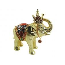 JF2597 King Elephant Jewelry Case