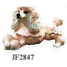 JF2847 Poodle Jewelry Case