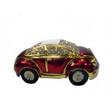 JF3307 Red Car Jewelry Case