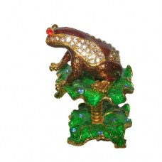 JF3781 Frog Jewelry Case