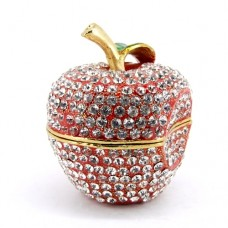JF4260 Crystal  Apple Jewelry Case