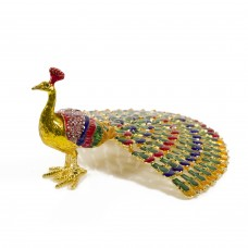 JF4532 Peacock  Jewelry Case
