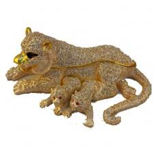 JF4866 Lion Jewelry Case