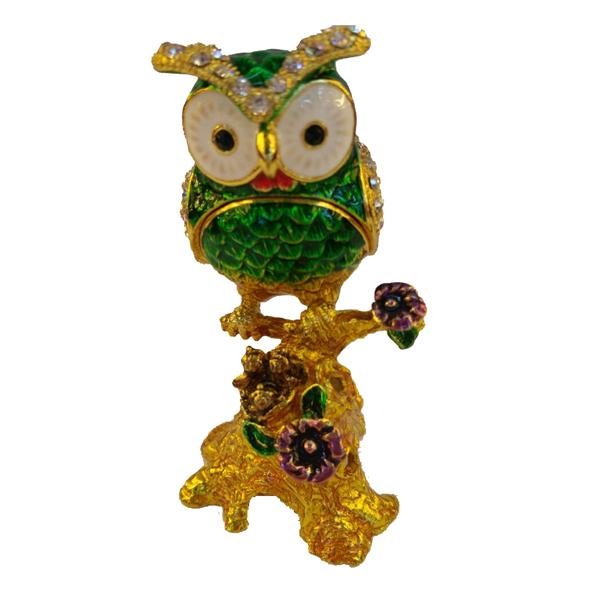 JF4922 Owl Jewelry Case