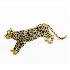JF4975  Leopard Jewelry Case