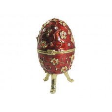 JF8038 Red Egg Jewelry Case