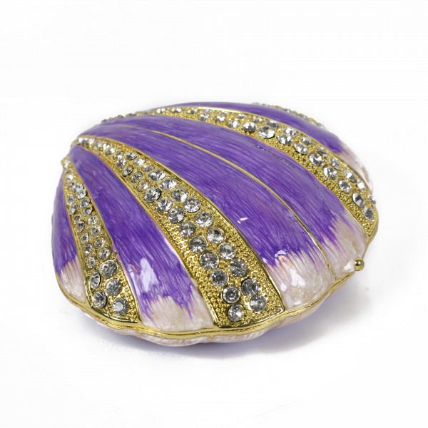 JF8115L  Sea Shell Jewelry Case