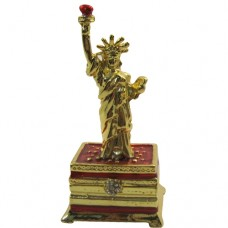 JF8568 Statue of Liberty Jewelry Case