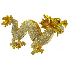 JF8730 Golden Dragon Jewelry Case